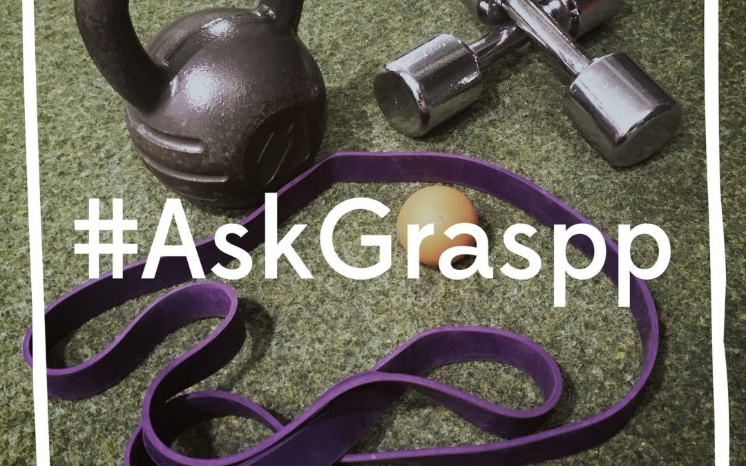 Ask Graspp 001: Burning Calories/Fat Loss Using Free Weights